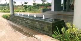 Kolam batu alam/kolam ikan
