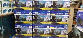Ps4 with warranty 1tb with games warranty