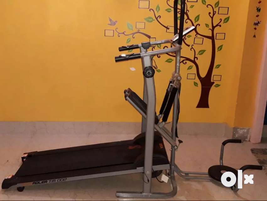 BSA 4 in 1 MANUAL TREDMILL IN FULLY NEW CONDITION 0