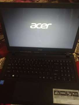 acer laptop for sell brand new condition very less used