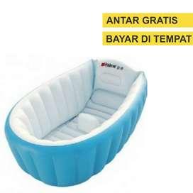 intime tempat mandi bak kolam bayi bath tub baby biru 4390