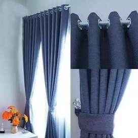 Gorden Minimalis Gordyn Korden Gordeng Hordeng Vitrase Curtain 439