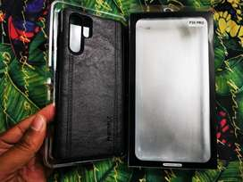 Huawei p30 Pro original leather remax cover..