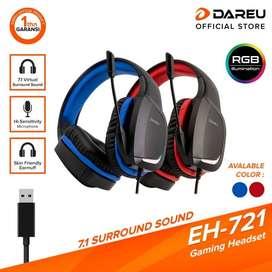 DAREU EH721 Headset Microphones Surround Sound 7.1