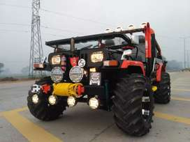 Modified mahindra thar jeep unused rarely less used owner