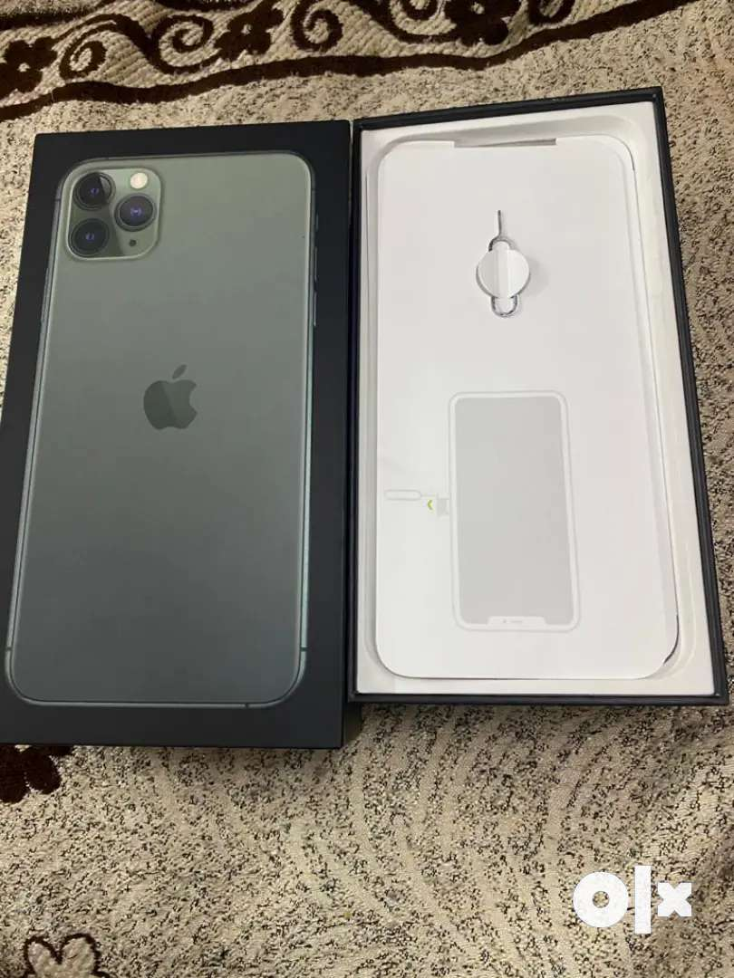 I phone 11 pro max with teo covers...new condition