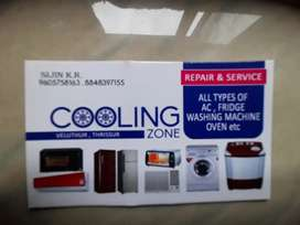 Service for home appliances.secand hand AC available..