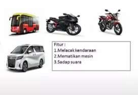 Paket murah GPS TRACKER gt06n, amankan mobil rental/taxi online+server