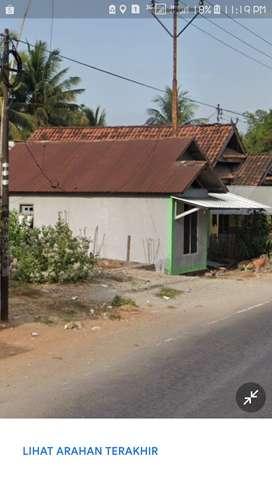 tanah beserta pondasi dan rumah
