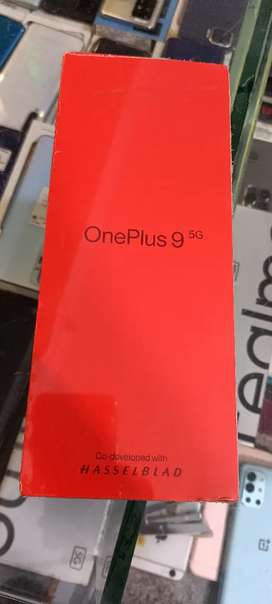 Oneplus 9 5G (8/128) seal pack 01 year company warranty