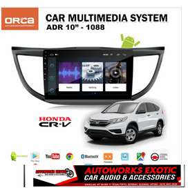 Autoworks exotic Berbah//Head unit android 10inc CRV new 2013
