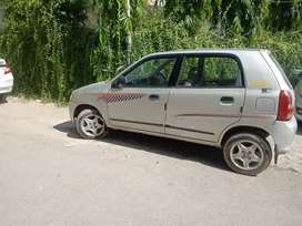 Good condition Alto Lxi company green best price with BMW alloy wheel