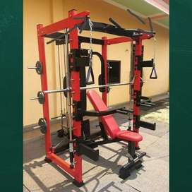 Alat fitnes murah smith multi machine bisa cod