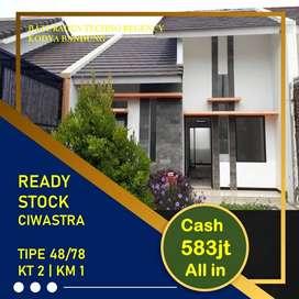 Rumah Siap Huni Strategis Arcamanik Kota Bandung, Antapani 580 jutaan
