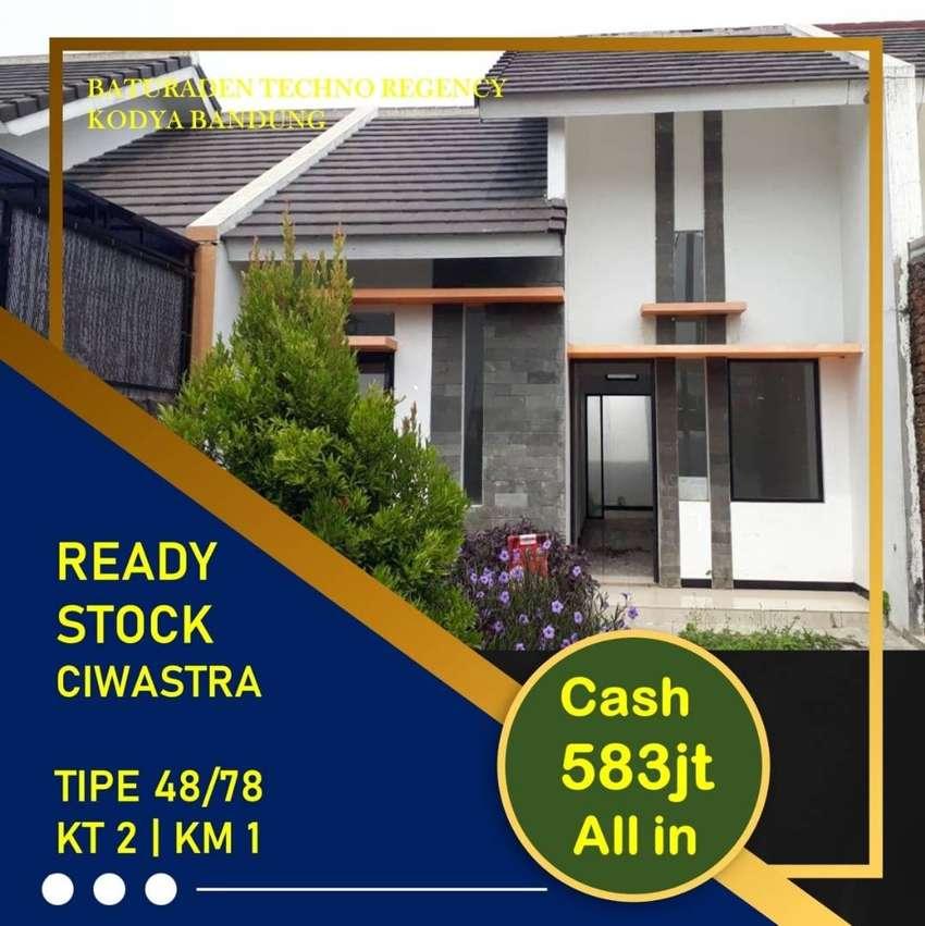 Rumah Siap Huni Strategis Arcamanik Kota Bandung, Antapani 580 jutaan 0