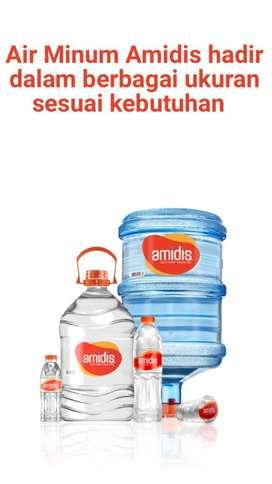 Jual AMIDIS (Air Minum Distilasi) dlm kemasan galon, botol & gelas