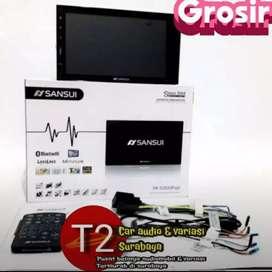 Promo Dvd 2din SANSUI JAPAN android link 7inc+camera hd mantul bosku