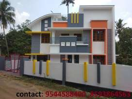 7 cent plot with 2200 sq.ft 4 BHK house for sale in kollam chathannoor