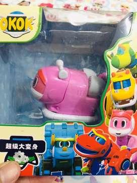 Mainan anak gogo dino cute warna pink