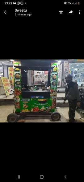 Food Cart on Wheels