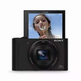 Sony wx500 with 30x zoom and flipscreen for special vlogging youtubers