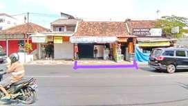 Tanah Bonus Bangunan di Tepi Jl. Parangtritis Mantrijeron Yogyakarta