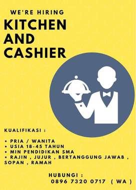 Dicari Waiter/Waitress/Kitchen