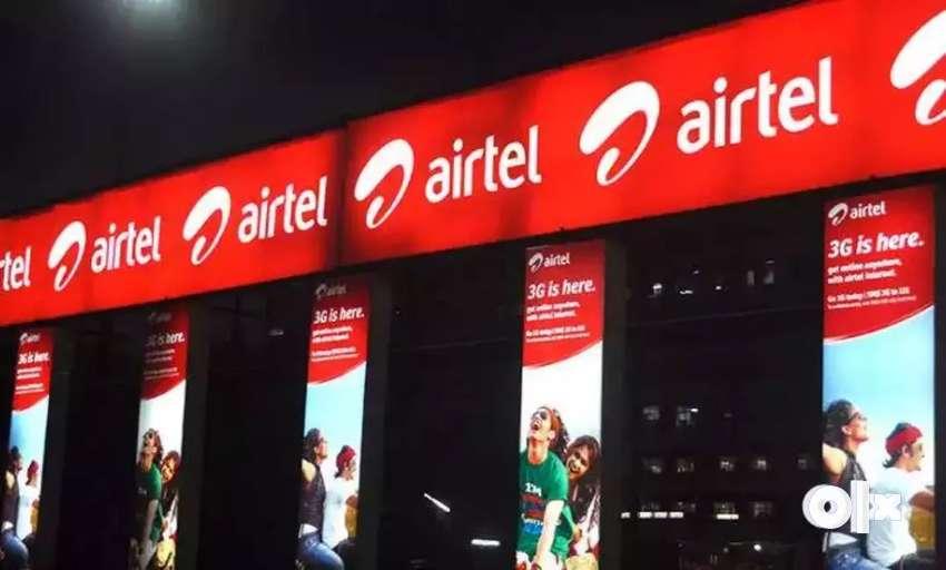 Airtel process Hiring CCE/ Fresher/ BPO/Day & Night Shifts/ Inbound 0
