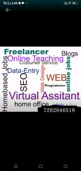 We need candidate for data entry  work