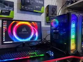 Komputer gaming i5 10400f siap pakai