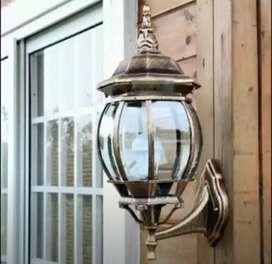 Lampu gantung antik klasik katrol joglo gebyok pendopo ukuran 28cm