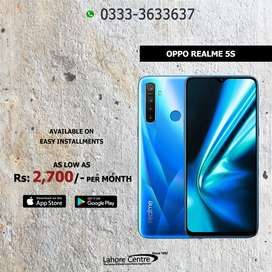 Oppo Realme 5S  Available On Installment With 0% Advance.