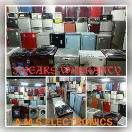 Add-9960 All types of fridge and washing machines in 3 years warranty