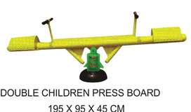 Double Children Press Board Outdoor Fitness Termurah