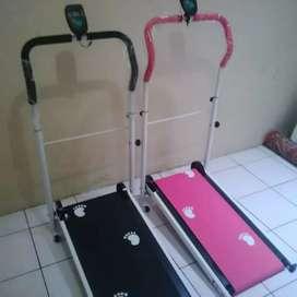 Alat olahraga simple manual Treadmill Fungsi