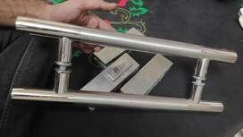 Mirror door handle and locks