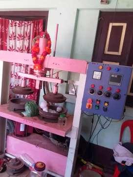 Hidrolik paper plates machine