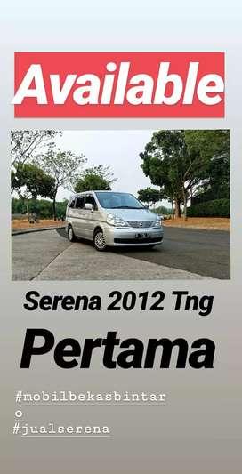 Nissan Serena CT 2012 - cash ~ MULUS & Pajak ON