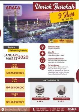 ANATA tour Umrah 9 hari cukup 24 jt saja