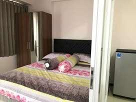 Sewa Kost apartemen gateway Pasteur type 1Bed Bulanan dkt Borma