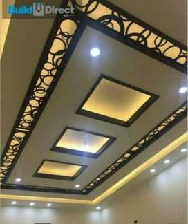 False ceiling / wall papers / Flooring / blinds