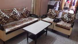 Sofa. Set and centre table