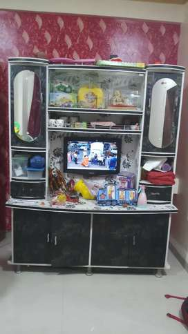 This is wall unit showcase