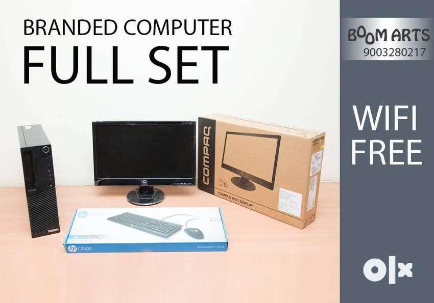FULLSET BRANDED-LENOVO CPU-1 YEAR WARRANTY-GRAPHICS 2GB-RAM 4GB-WIFI 0