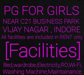 Adishakti PG FOR GIRLS  NO BOND NO CAUTION MONEY