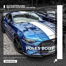 Jasa Salon Mobil Panggilan Bergaransi - Poles Bodi - Nano Ceramic