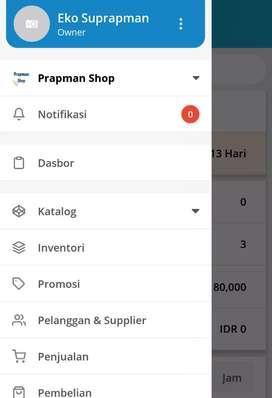 Aplikasi Kasir Poin of Sale Android Online