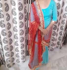 Shrara dress with duppta