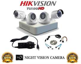 4 CCTV SECURITY CAMERAS WITH FREE INSTALLATION