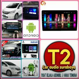 Surabaya promo 2DIN FOR HONDA FREED ANDROID ASLI 10INC CANGGIH+CAMERA